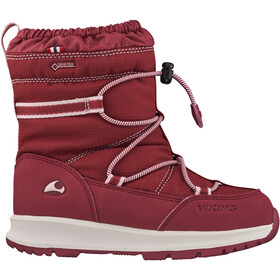 Viking Footwear Asak GTX Talvisaappaat Lapset, dark red/red